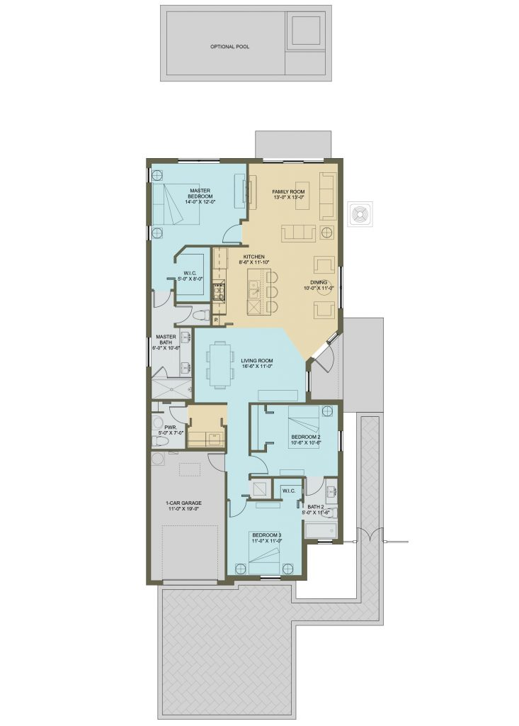 Floorplan of THE WILLOW