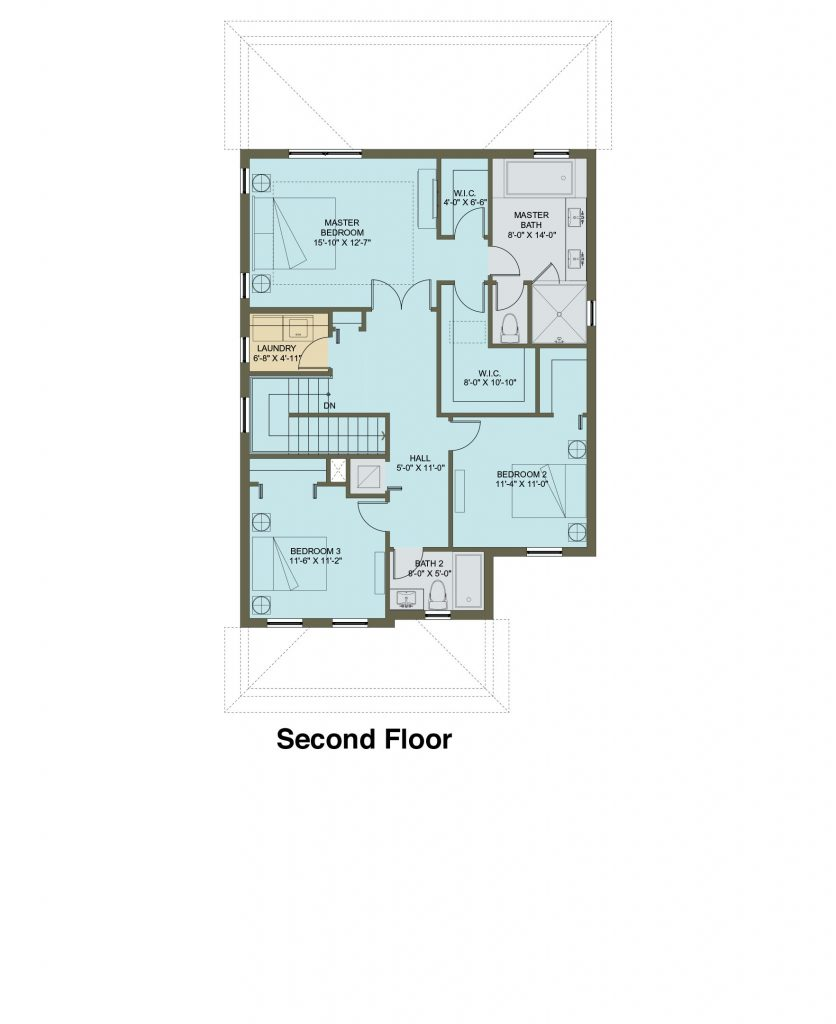 Floorplan of THE MAPLE