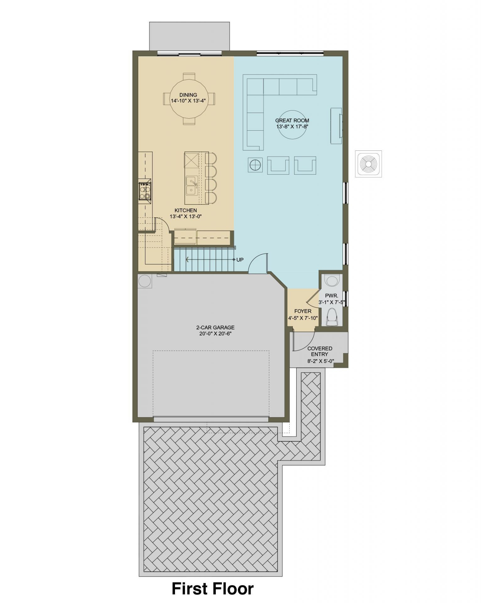Floorplan of THE CYPRESS - SOLD OUT